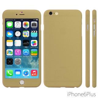 【iPhone6sケース】極薄ハードケース ZENDO Nano Skin ゴールド iPhone 6s