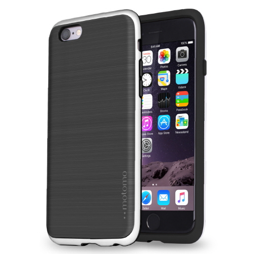 iPhone6s/6 ケース TPUケース INFINITY マット ブラックシルバー iPhone 6s/6_0