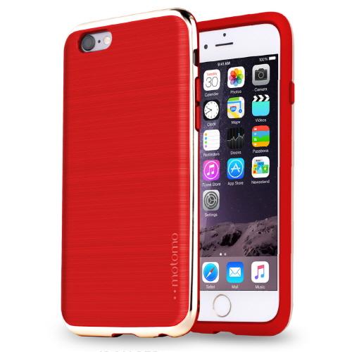 【iPhone6s/6ケース】TPUケース INFINITY クロム レッドゴールド iPhone 6s/6_0
