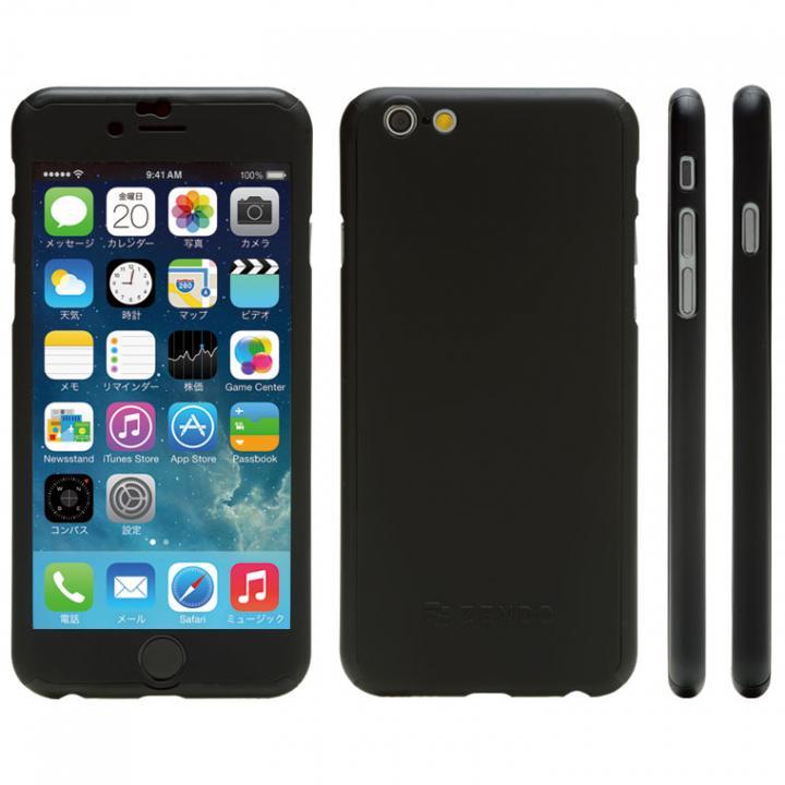 【iPhone6sケース】極薄ハードケース ZENDO Nano Skin ブラック iPhone 6s_0