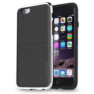 [2017夏フェス特価]TPUケース INFINITY クロム ブラックシルバー iPhone 6s/6