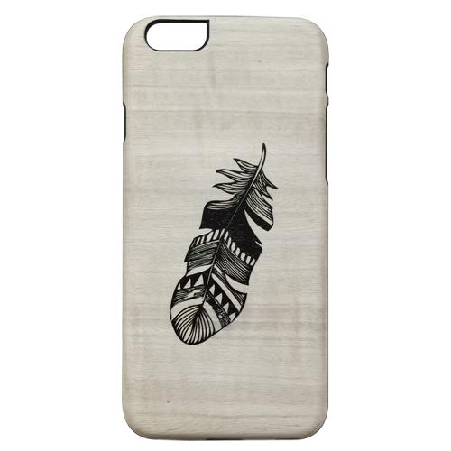 【iPhone6s/6ケース】天然木ケース UVプリント インディアン iPhone 6s/6_0