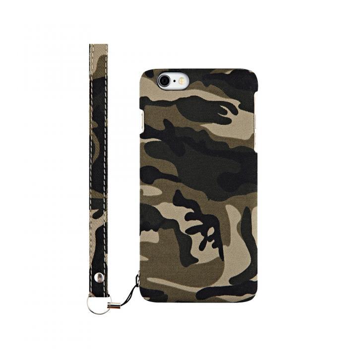 ファブリックケース [NUNO] カモフラージュ iPhone 6s