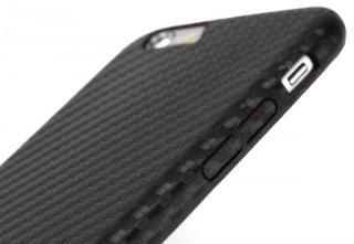 【iPhone6s Plusケース】TUNEWEAR CarbonLook ブラック iPhone 6s Plus/6 Plus_5