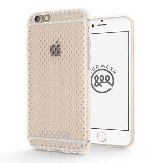 エラストマー AndMesh MESH CASE クリア iPhone 6s/6ケース