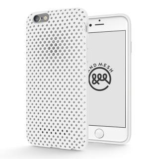 エラストマー AndMesh MESH CASE ホワイト iPhone 6s/6ケース