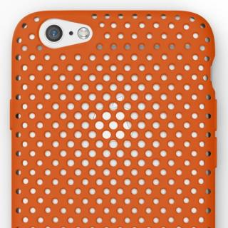 【iPhone6s/6ケース】エラストマー AndMesh MESH CASE オレンジ iPhone 6s/6ケース_1