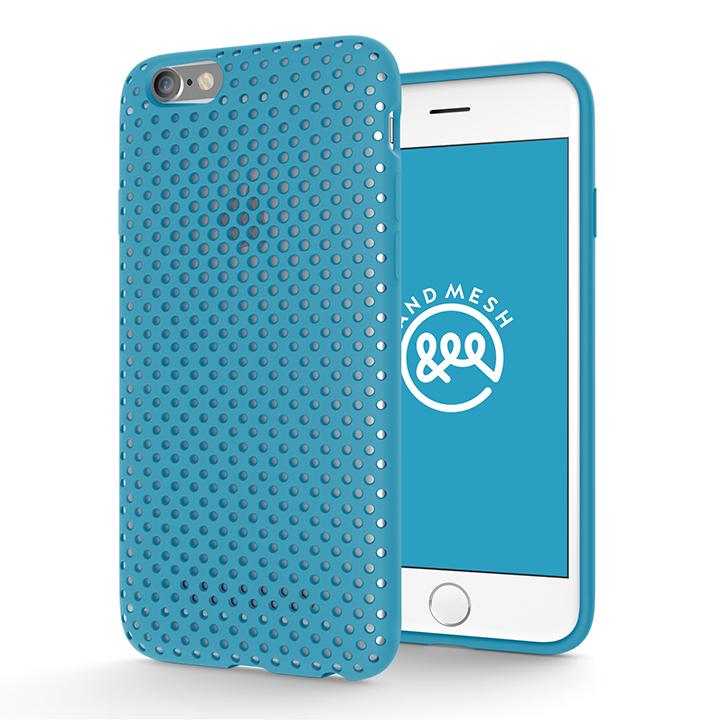 iPhone6s/6 ケース エラストマー AndMesh MESH CASE ターコイズ iPhone 6s/6ケース_0
