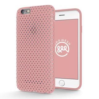 エラストマー AndMesh MESH CASE ピンク iPhone 6s/6ケース
