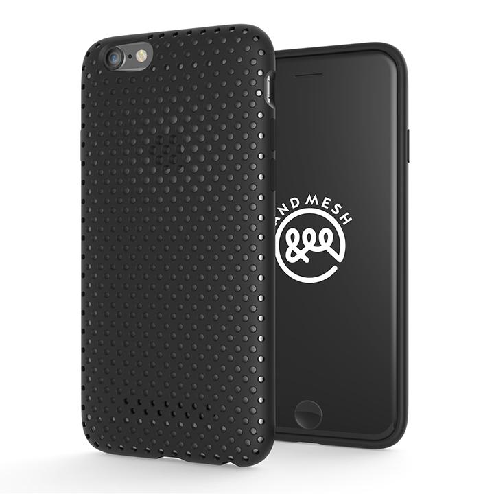 iPhone6s/6 ケース エラストマー AndMesh MESH CASE ブラック iPhone 6s/6ケース_0