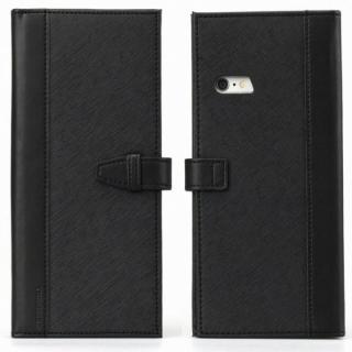 【iPhone6s Plusケース】Complete Wallet 手帳型ケース ブラック iPhone 6s Plus/6 Plus_2
