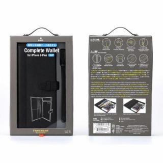 【iPhone6s Plusケース】Complete Wallet 手帳型ケース ブラック iPhone 6s Plus/6 Plus_6