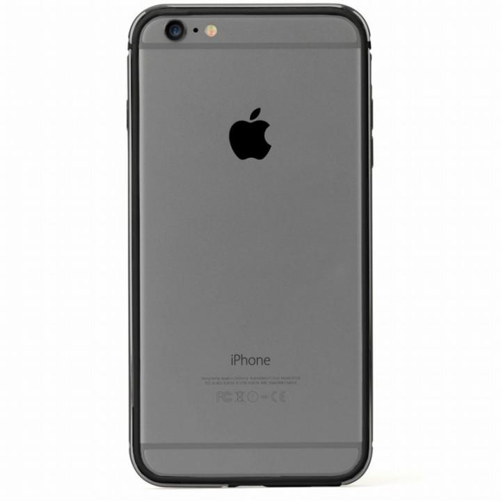 【iPhone6s Plusケース】FRAME x FRAME バンパーケース グレイ/ブラック iPhone 6s Plus/6 Plus_0