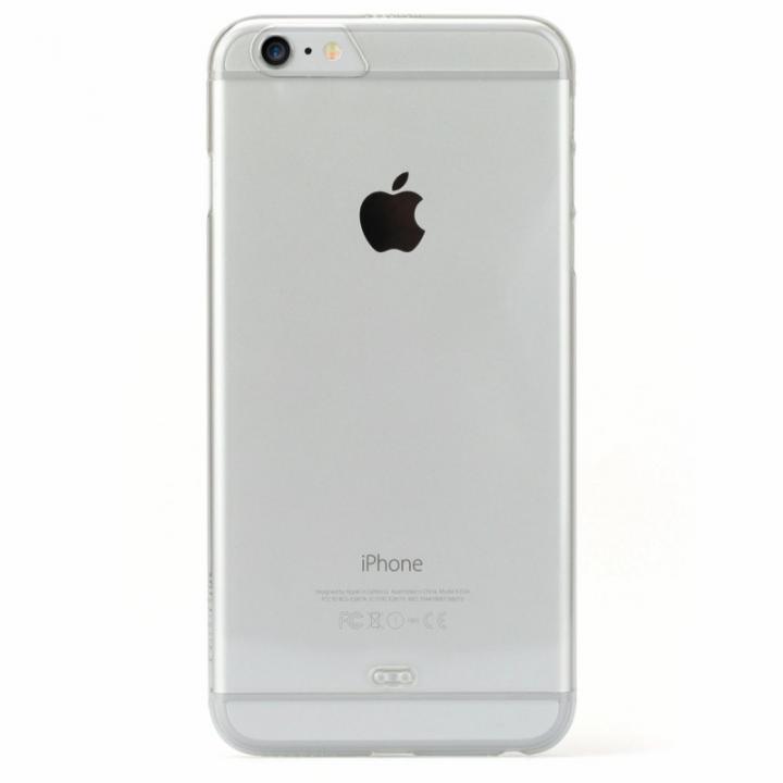 TUNEWEAR eggshell 約0.8mm薄型ハードケース クリスタルクリア iPhone 6s Plus/6 Plus