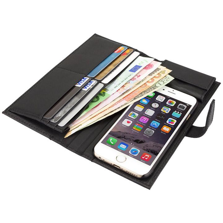 【iPhone6sケース】Complete Wallet 手帳型ケース ブラック iPhone 6s/6_0