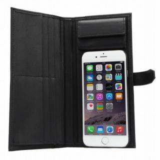 【iPhone6sケース】Complete Wallet 手帳型ケース ブラック iPhone 6s/6_2