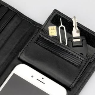 【iPhone6sケース】Complete Wallet 手帳型ケース ブラック iPhone 6s/6_3