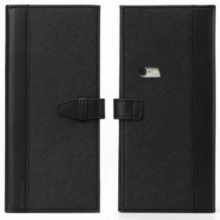 【iPhone6sケース】Complete Wallet 手帳型ケース ブラック iPhone 6s/6_4