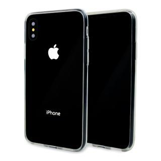 A+ 背面強化ガラス×TPUハイブリッドケース Clear Panel Case for iPhone X
