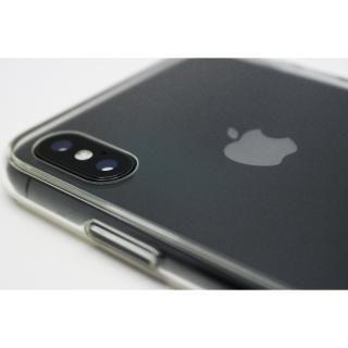 【iPhone X/XSケース】A+ 背面強化ガラス×TPUハイブリッドケース Clear Panel Case for iPhone XS/iPhone X_2