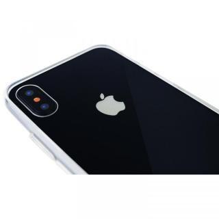 【iPhone X/XSケース】A+ 背面強化ガラス×TPUハイブリッドケース Clear Panel Case for iPhone XS/iPhone X_4