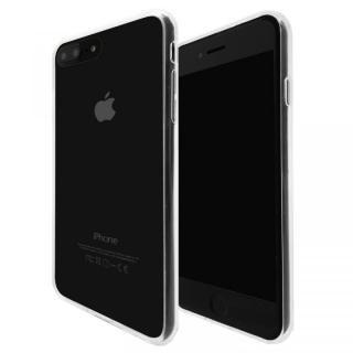 A+ 背面強化ガラス×TPUハイブリッドケース Clear Panel Case for iPhone 8 Plus/7 Plus