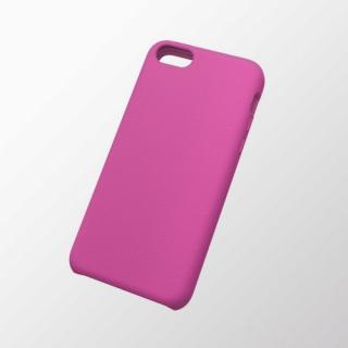 iPhone 5c用 シリコンケース(滑り止め) ピンク