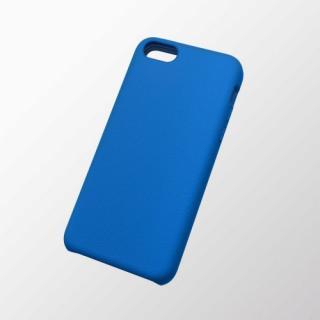 iPhone 5c用 シリコンケース(滑り止め) ブルー