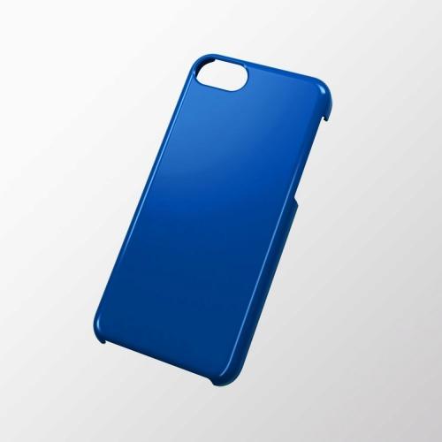 iPhone 5c用 シェルカバー(メタリック) ブルー_0