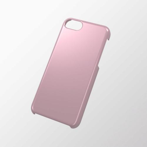 iPhone 5c用 シェルカバー(メタリック) ピンク_0