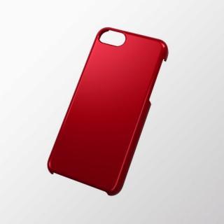 iPhone 5c用 シェルカバー(メタリック) レッド