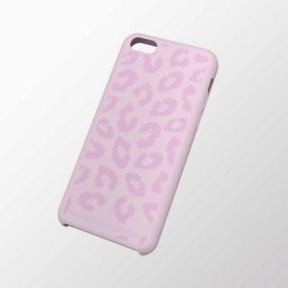 iPhone 5c用 シリコンケース(テクスチャ) ヒョウ