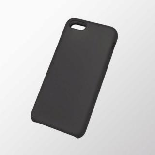 iPhone 5c用 シリコンケース ブラック