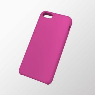 iPhone 5c用 シリコンケース ピンク