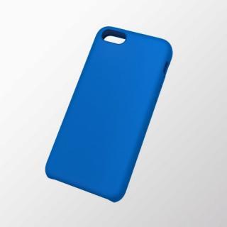 iPhone 5c用 シリコンケース ブルー