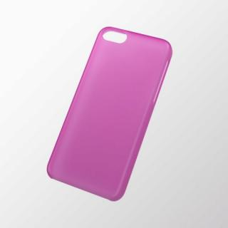 iPhone 5c用 シェルカバー(薄型) ピンク