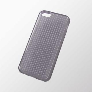 iPhone 5c用 ソフトケース(ダイアモンドカットラメ) ラメブラック
