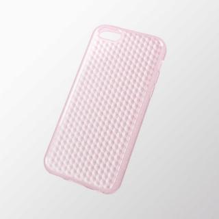 iPhone 5c用 ソフトケース(ダイアモンドカットラメ) ラメライトピンク