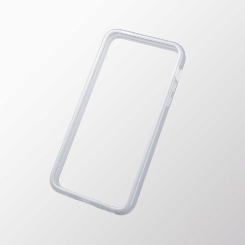 iPhone 5c用 ソフトバンパー クリア_0