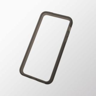 iPhone 5c用 ソフトバンパー ブラック