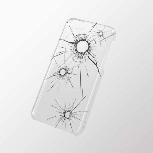 iPhone 5c用 シェルカバー(アップルテクスチャ) クラッシュ_0