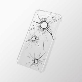 iPhone 5c用 シェルカバー(アップルテクスチャ) クラッシュ