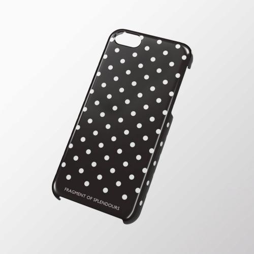 iPhone 5c用 シェルカバー ドットブラック_0