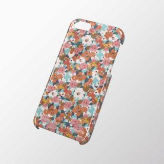 iPhone 5c用 シェルカバー 小花(パステル)
