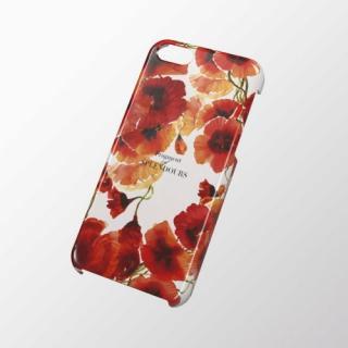 iPhone 5c用 シェルカバー フラワー(オレンジ)
