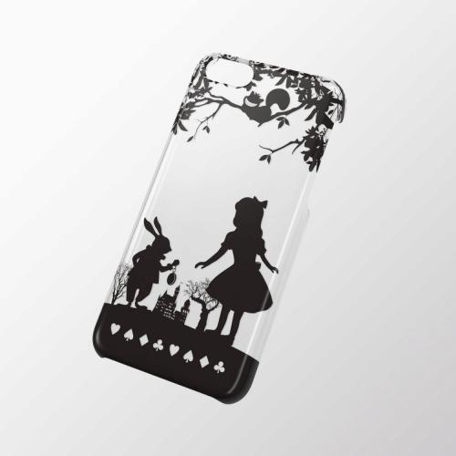 iPhone 5c用 シェルカバー(アップルテクスチャ) アリス_0