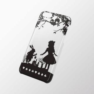 iPhone 5c用 シェルカバー(アップルテクスチャ) アリス
