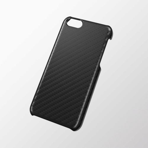 iPhone 5c用 シェルカバー(男子向け) カーボンブラック_0