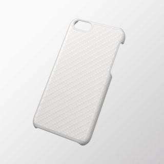 iPhone 5c用 シェルカバー(男子向け) カーボンホワイト