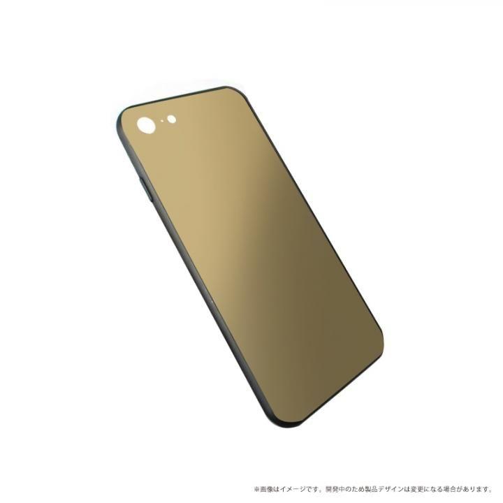【iPhone XS/Xケース】LEPLUS 背面ガラスシェルケース「SHELL GLASS」 ゴールド iPhone XS/X_0